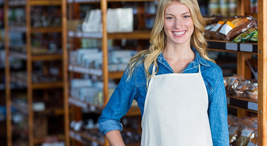 Fyra funktioner på överfallslarm i butik